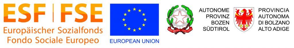 Fondo Sociale Europea Europaeischer Sozialfond European Union